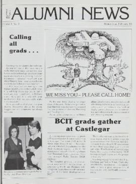 BCIT Alumni Association Newsletter 1983-02 Winter BCIT Alumni News