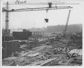 British Columbia Institute of Technology - early building construction - early 1966? - facing ENE...