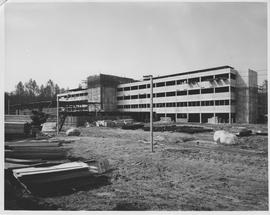 British Columbia Institute of Technology - Early building construction - 1963