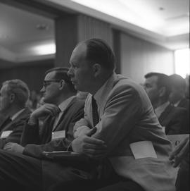 CVA Convention, 1969 ; men sitting on audience