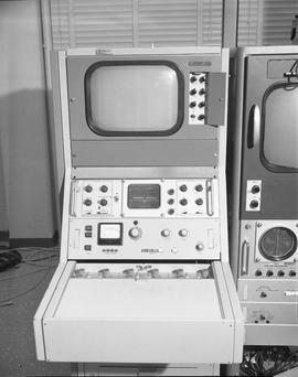 British Columbia Institute of Technology Broadcasting ; 1960s ; video monitor and control panel