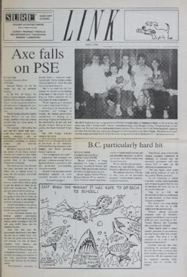 The Link Newspaper 1990-03-07