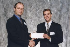 BCIT Alumni Association Entrance Awards, Oct. 27, 1999; Kevin Rathbun, presented by Kazamir Falco...