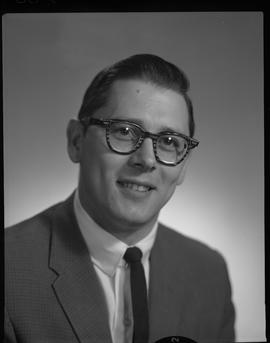 Riopel, R. (Dick), Business Management, Staff portraits 1965-1967 (E) [4 of 4 photographs]