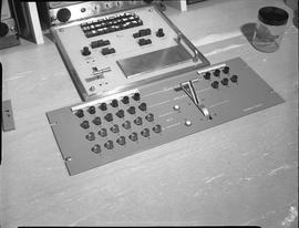 British Columbia Institute of Technology Broadcasting ; 1960s ; control board