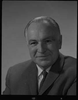 Turnbull, Malcolm (Mac), Stores Manager, Staff portraits 1965-1967 (E) [5 of 5 photographs]