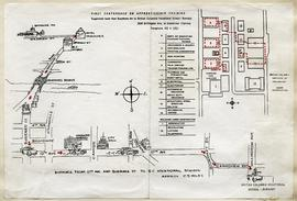 BCVS Campus Map for First Conference on Apprenticeship Training October 4-5, 1962