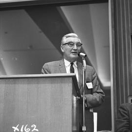 CVA Convention, 1969 ; man standing at a podium [6 of 6]