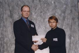 BCIT Alumni Award, Oct. 27, 1999; Harold Lee, presented by Kazamir Falconbridge, President, BCIT ...