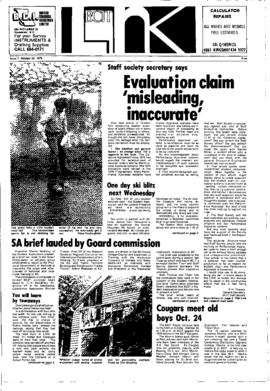 The Link Newspaper 1976-10-20