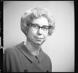 Waddell, Christine K., Industrial Relations Officer, Department of Labour, Staff portraits 1965-1...