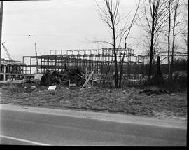 1960's Early construction of BCIT campus and buildings [5 of 21 photographs]