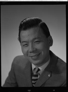Liu, Ray, Chemistry and Metallurgy, Staff portraits 1965-1967 (E) [2 of 4 photographs]