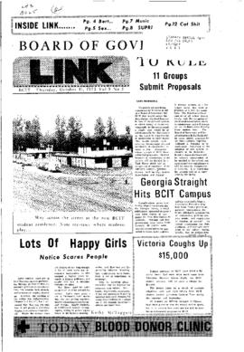 The Link Newspaper 1973-10-11