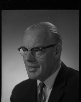 Irvine, Lawrence (Laurie), Broadcast Communication, Staff portraits 1965-1967 (E) [3 of 4 photogr...