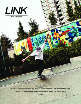 Link magazine September 2018 BCIT & Beyond