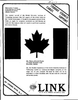 The Link Newspaper 1970-10-27