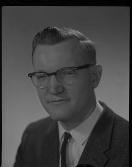 Orme, Tedorme (Ted) John E., Physics Department, Staff portraits 1965-1967 (E) [2 of 5 photographs]