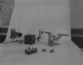 Physics; various pieces of physics equipment