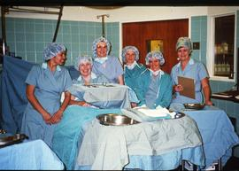 Perioperative Nursing group photograph ca. 1987