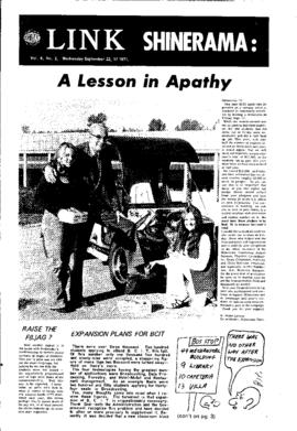 The Link Newspaper 1971-09-22
