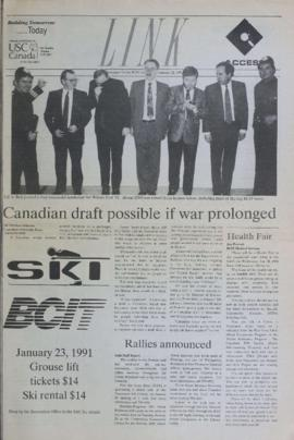 The Link Newspaper 1991-01-22