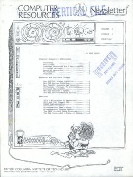 BCIT Computer Resources Newsletter, vol.2, no.1, 1983-09-02