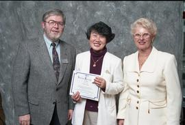 BCIT Staff Recognition Awards, 1996 ; Vivian Tang, 10 years