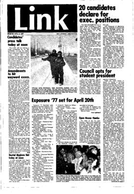 The Link Newspaper 1977-04-06