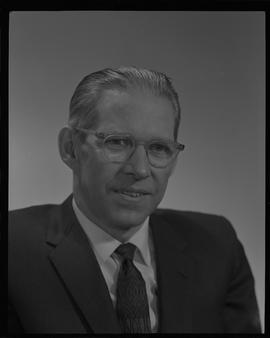 Davidson, Keith, Head of Building Technology, Staff portraits 1965-1967 (E) [1 of 3 photographs]