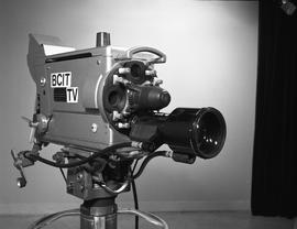 British Columbia Institute of Technology Broadcasting ; 1960s ; television video camera