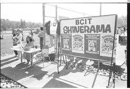 BCIT Student Association's Shinerama Beer Garden event held at the tennis courts on Burnaby Campus.