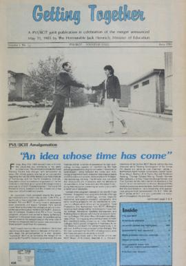 The Link Newspaper 1985-06 PVI/BCIT Merger Souvenir Issue