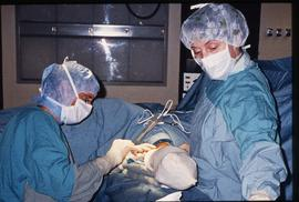 Advanced critical care studies, operating room, December 13, 1987 [4 of 9 photographs]