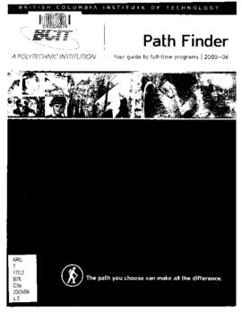 Path Finder. Your guide to full time programs. Full-time calendar 2005-06