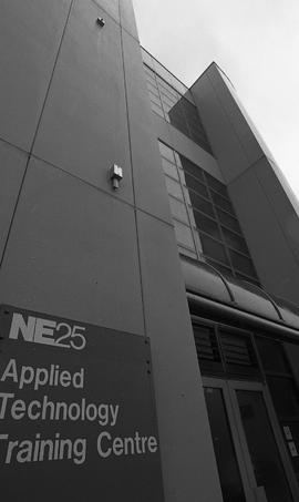 NE25 Applied Technology Training Centre, photographs of building, 1995 [11 of 17 photographs]