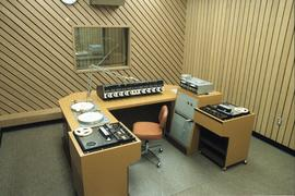 Broadcast Communications; radio control booth