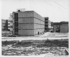 British Columbia Institute of Technology - early building construction - 1967 June - SW3 - facing...