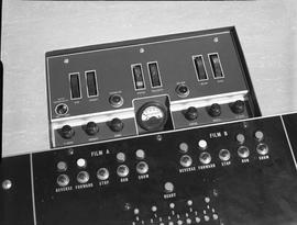 British Columbia Institute of Technology Broadcasting ; 1960s ; video control panel