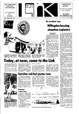 The Link Newspaper 1976-09-15