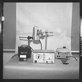 Physics; a scalamp galvanometer, power supply device, and other physics equipment