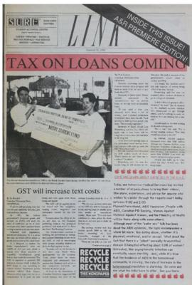 The Link Newspaper 1990-01-31