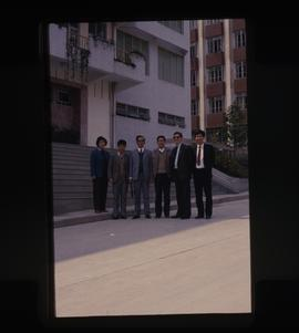 Wynne Powell Visit to China  GuangZhou University 1988