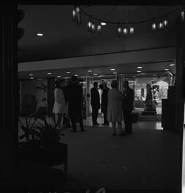 Hotel Motel Restaurant Administration Program; groups of people standing in a foyer