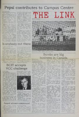 The Link Newspaper 1987-10-14