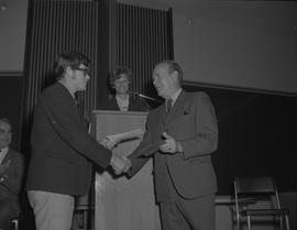 Student Scholarship Awards, BCIT, 1969 [8]