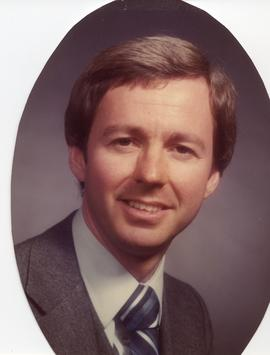 BCIT Alumni Association Board Member; Bruce Crawley, Business rep, 1988-89