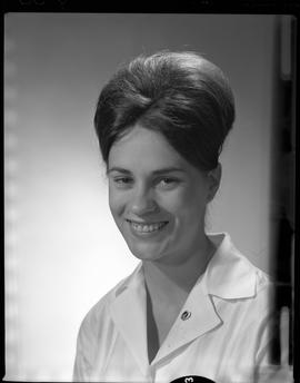 Perkins, Valery (Val), Medical Lab, Staff portraits 1965-1967 (E) [4 of 5 photographs]