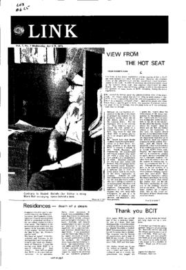The Link Newspaper 1972-04-19