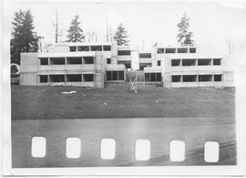 British Columbia Institute of Technology - student residences under construction, Maquinna Reside...